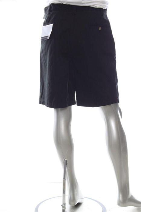 Details about GEOFFREY BEENE Mens 34 Cotton Casual Shorts Black Solid